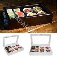 جعبه پذیرایی چوبی لوکس RECEPTION BOX W126
