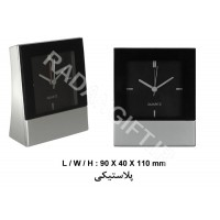 ساعت رومیزی طرح لاستیک ماشین TIRE SHAPE CLOCK S21