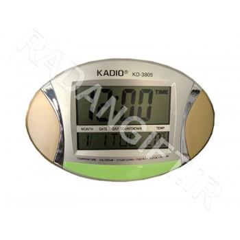 ساعت رومیزی و دیواری کادیو KADIO KD-3805