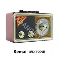 رادیو اسپیکر  بلوتوث دار تبلیغاتی کمای KEMAI MD-1909BT