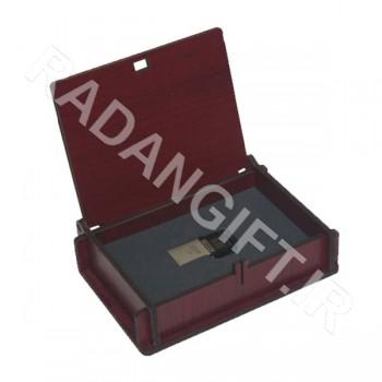 جعبه چوبی فلش مموری X3