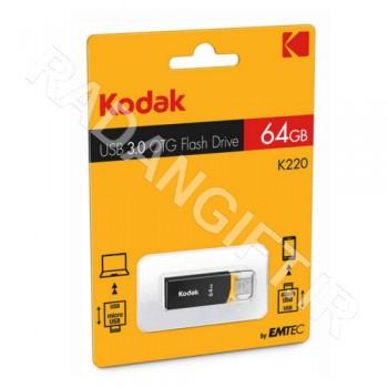 فلش مموری موبایل کداک 16 گیگ  KODAK USB3 OTG K220