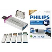فلش مموری فیلیپس 16 گیگ PHILIPS OTG USB3 MONO