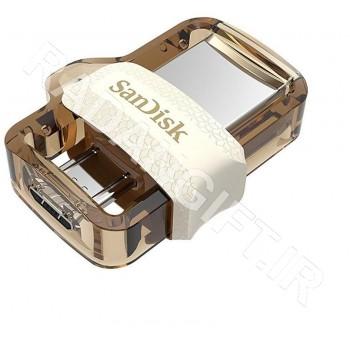 فلش مموری سن دیسک 16 گیگ موبایل SANDISK USB3 OTG M30