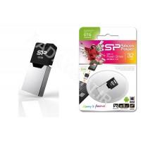 فلش مموری سیلیکون پاور 8 گیگ موبایل SILICON POWER OTG X20