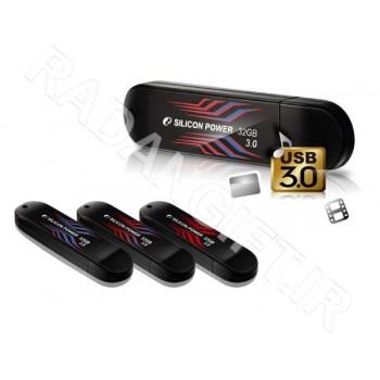فلش مموری سیلیکون پاور 16 گیگ بلیز  SILICON POWER USB3 B10