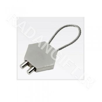 جاسویچی فلزی تسمه دار K146