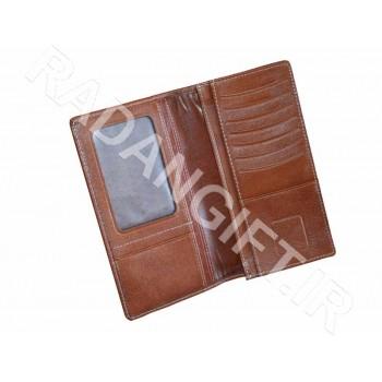 کیف پول پالتویی چرمی آشیک ASHIK WALLET B200