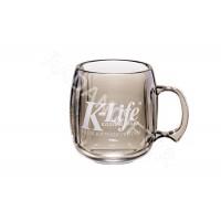 لیوان و ماگ تبلیغاتی پلاستیکی شفاف M4 لیوان و ماگ و فلاسک