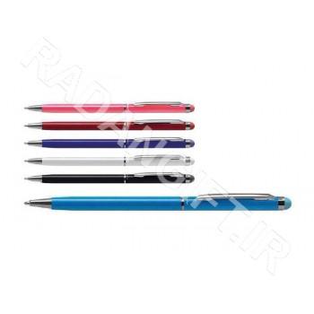 خودکار تاچ دار فلزی آشیک TOUCH PEN 730