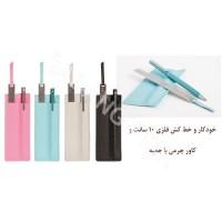خودکار و خط کش تبلیغاتی اشل ESHELL 1001
